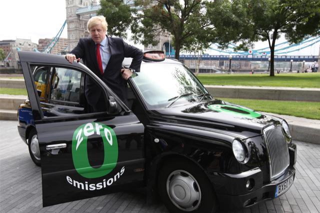 Il sindaco di Londra, Boris Johnson