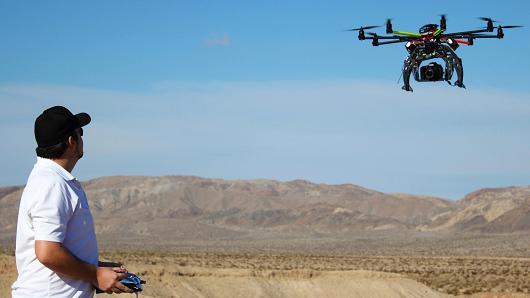 Droni e telecamere