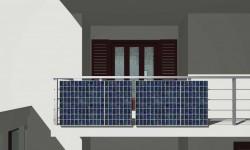 Fotovoltaico sul terrazzo