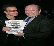 McGuinness e Bono Vox