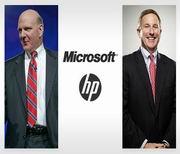 Microsoft e HP