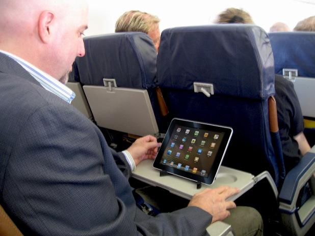 Tablet in volo