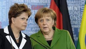 Angela Merkel e Dilma Rousseff