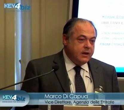 Cashlessitalia - Intervento Marco Di Capua