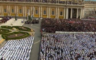 Canonizzazione in 3D di Giovanni XXIII e Giovanni Paolo II