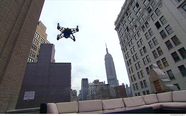 Droni e media