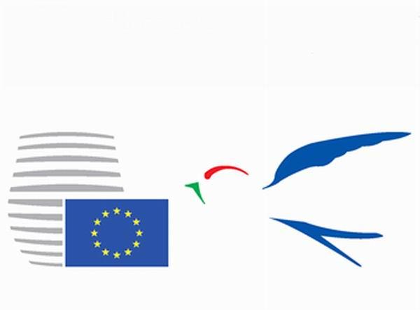 Logo Semestre di presidenza italiana Ue