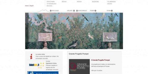 Mibact, online il portale di Pompei