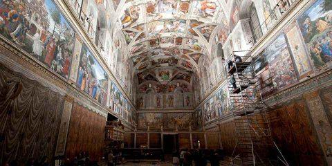 Efficienza energetica: 7 mila LED alla Cappella Sistina e risparmi del 60%