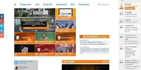 La Sharing economy week in onda sul canale Sky Reteconomy