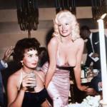Sophia Loren e Jayne Mansfield, 1964