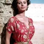 Sophia Loren statuaria