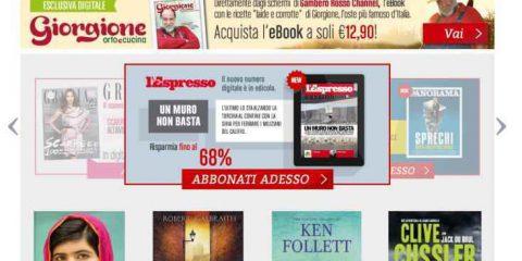 Su TIMreading i magazine del Gruppo Editoriale L'Espresso
