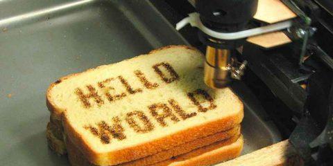 Smart jobs: cibo in 3D col cuoco programmatore (prima puntata)
