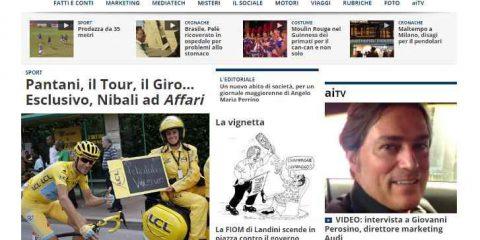 Affaritaliani.it lancia il nuovo sito web