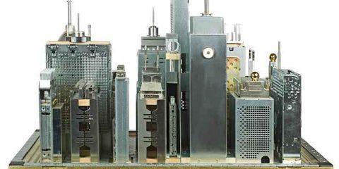 Museo del Riciclo presenta le 'metropolelettroniche' di Franco Recchia