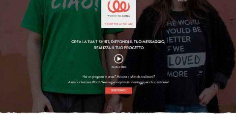 Fundraising, arriva in Italia 'Worth Wearing'