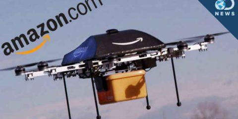 Droni, Amazon va avanti nonostante le critiche. Primi test a Cambridge