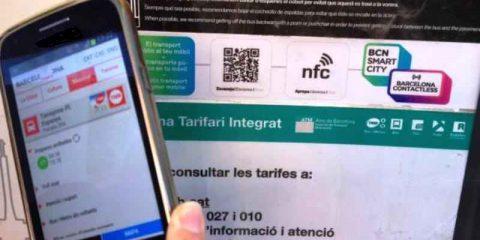 Barcellona contactless, informazioni ai cittadini tramite 8 mila proximity stickers