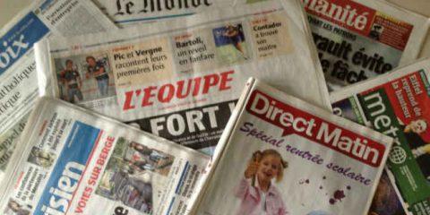 eJournalism: aiuti diretti alla stampa, la Francia dice no