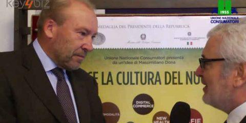Premio Dona 2014: 'Puntiamo a 60 milioni di case in Europa'. Video intervista a Eric Gerritsen (Sky Italia)