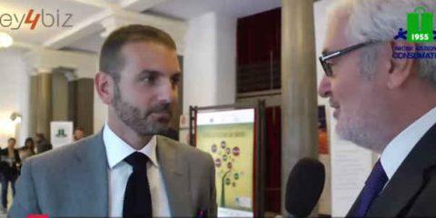 Premio Dona 2014: 'Nel 2015 lanceremo lo scooter sharing'. Video intervista a Giuseppe Macchia (Eni Enjoy)