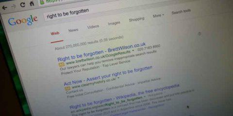 Diritto all'oblio: anche Microsoft e Yahoo cominciano a rimuovere i contenuti