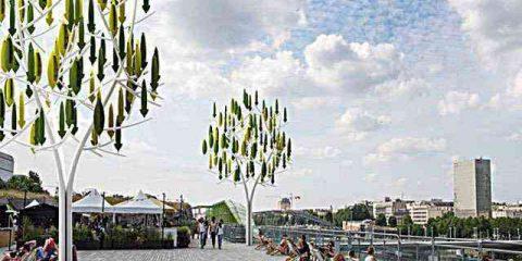 Parigi: arriva l'albero del vento (video)