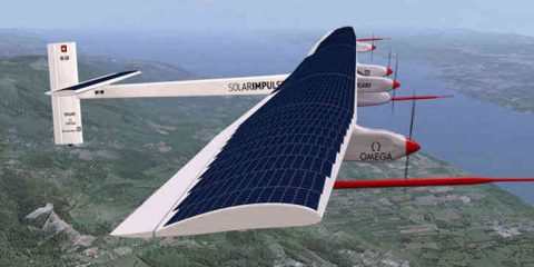 Solar Impulse 2: in volo per la traversata dell'Atlantico (Video)
