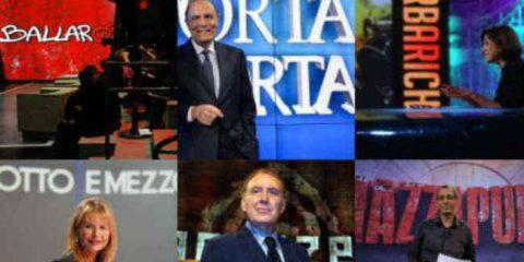Appello Donne e Media: 'Caro Renzi la crisi dei talk show è la crisi della tv italiana'