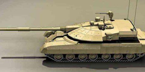 Il carro armato robotizzato dell'esercito russo (video)