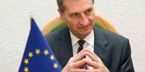Mercato unico: telco e investitori a rapporto da Oettinger