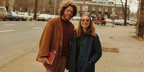 Come erano: Bill e Hillary Clinton studenti universitari nel 1972