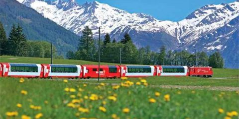 Rinnovabili: a Berna quattro treni su dieci sono alimentati con energia idroelettrica