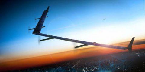 Facebook, primi test sui droni solari