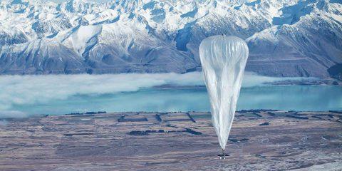 Google Loon, LTE in mongolfiera dalla Nuova Zelanda al Cile