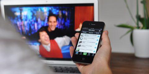 Social tv in Italia: a febbraio 6,4 milioni di post su programmi televisivi
