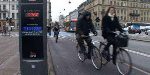 A Copenhagen 380 semafori intelligenti per biciclette e bus