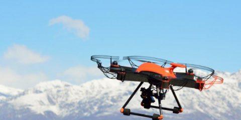 Droni per il controllo dei parchi fotovoltaici (video)