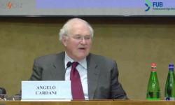 Angelo Cardani, Presidente Agcom, interviene al convegno FUB