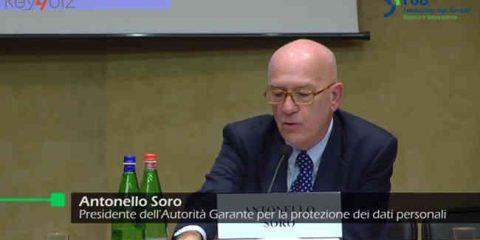 Data protection, nuove norme Ue in GU. Soro: 'Equilibrio tra tutela diritti ed esigenze del mercato'