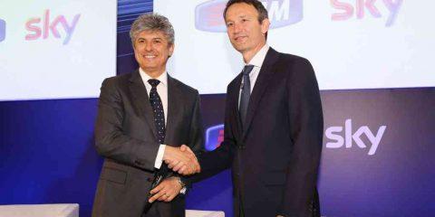 Sky-Telecom Italia, accordo sulla fibra. Patuano: 'Contenuti da altri provider benvenuti'
