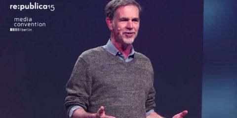'La Tv del futuro? Simile a un grande iPad'. Conversazione con Reed Hastings di Netflix (video)