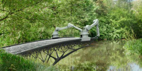 Amsterdam, il primo ponte creato in 3D. Ecco il promo (video)
