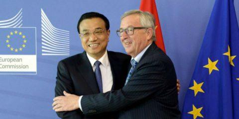 Ue-Cina, Juncker lancia partnership per le smart cities