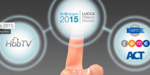 Tv, appuntamento 11 e 12 giugno a Lucca per parlare di HbbTv e 4K
