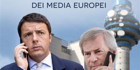 Bolloré, il re dei media: l'on. Sergio Boccadutri e il Comm. Antonio Nicita alla presentazione del libro di Fiorina Capozzi. Roma, 9 luglio 2015