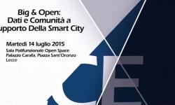 """Convengo """"Big & Open: dati e comunità a supporto della Smart City"""""""