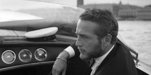 Paul Newman a Venezia per la Mostra del Cinema (1963)