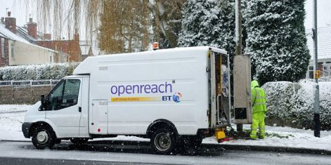 Fibra spenta in Uk, Openreach in rotta con Ofcom